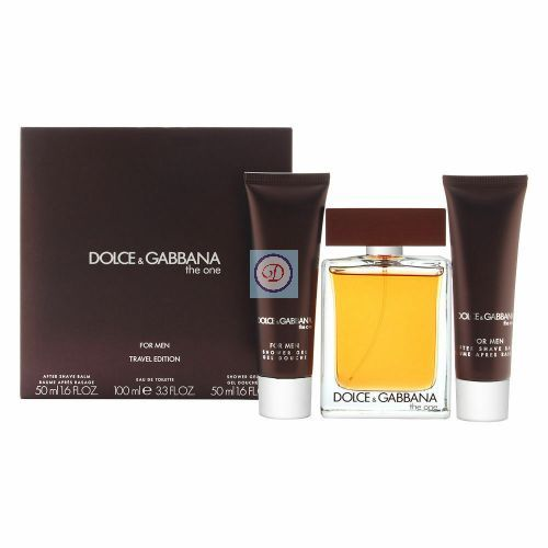 Dolce & Gabbana The One For Men eau de toilette 100ML + 50 ml dopobarba + 50 ml gel doccia
